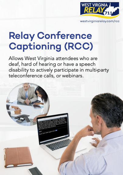 Relay Conference Captioning Brochure